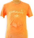 t-shirt Gumnuts Aussie mandarin color