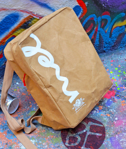 Melbourne Pride backpack in washable paper fabric