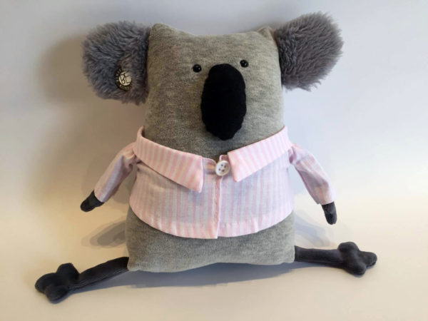 Koala with pink pyjamas by BeMarsupial