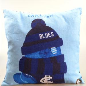 AFL Carlton Blues cushion cover