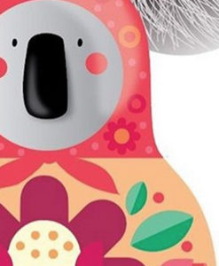 detail of Russian koala print