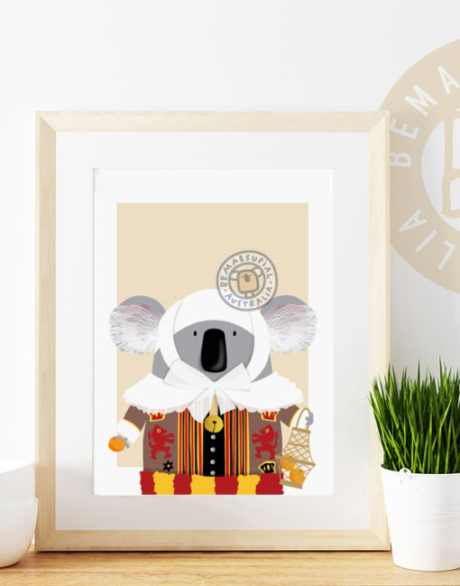 Belgian koala print