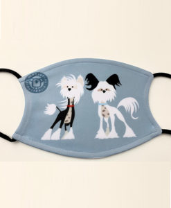chinese crested mask - custom made product