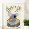 Koala goggles print