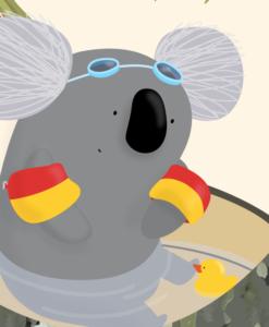 print Koala Goggles