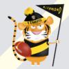 Richmond Tigers print