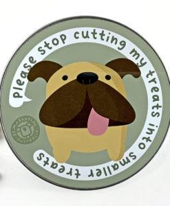 bulldog dog treats tin box