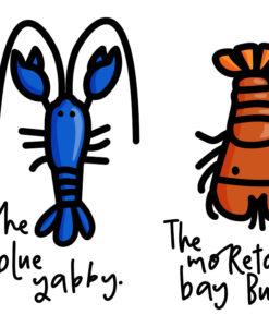 Crustaceans downunder print