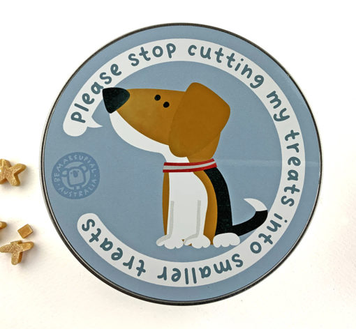 beagle dog treat tinbox