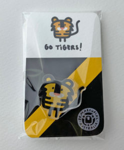 footy pin go tigers