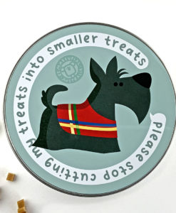 terrier dog treats tin box