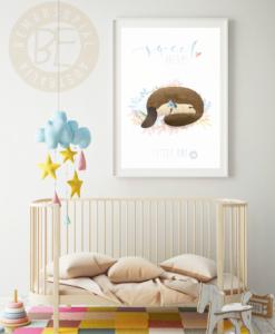 nursery-print sweet dreams platypus